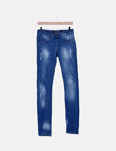 Jeans pitillos ripped