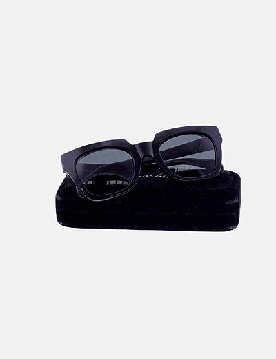 Gafas de sol montura ancha negra