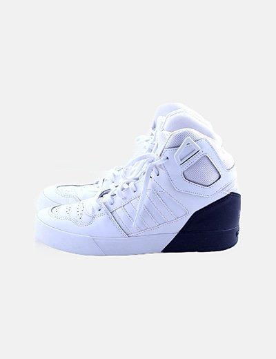 Sneaker botín blanca
