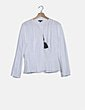 Camisa blanca manga larga Massimo Dutti