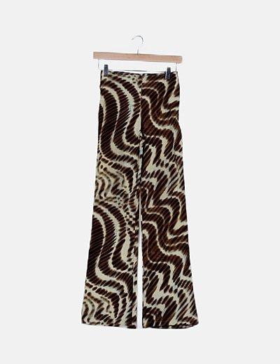 Pantalón estampado glitter