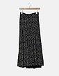 Falda negra floral NoName