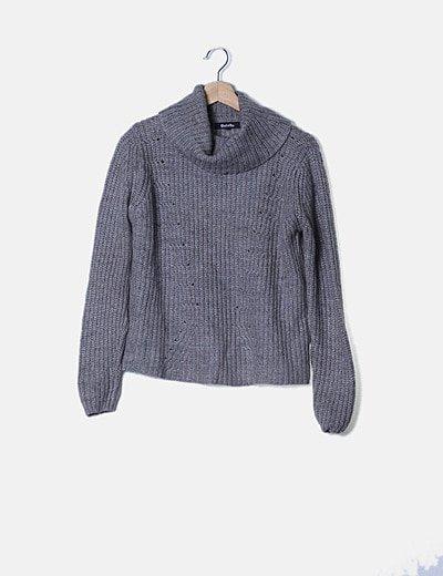 Jersey gris de punto