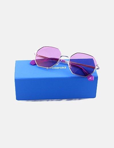 Gafas de sol montura hexagonal