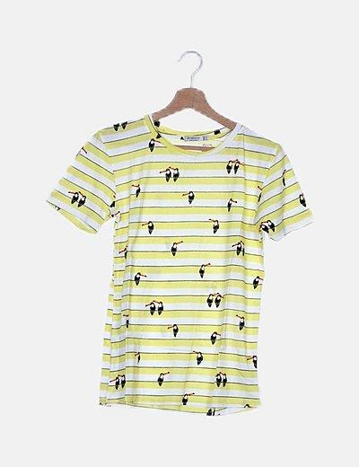 Camiseta amarilla tucanes
