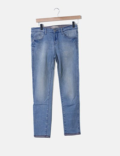 Jeans efecto desgastado