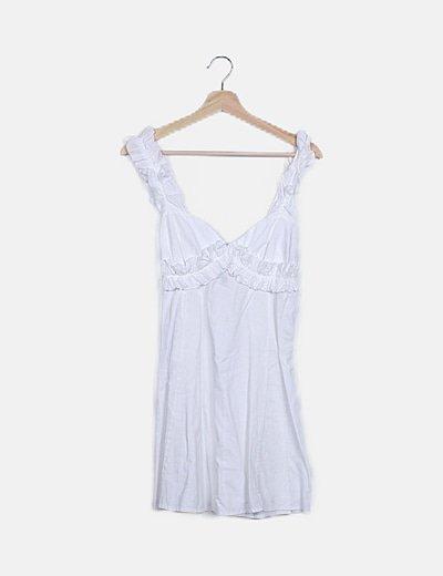 Vestido tirantes blanco