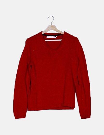 Jersey rojo punto