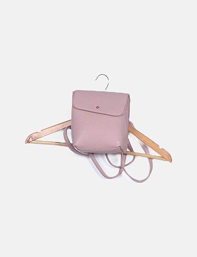 Mochila mini rosa