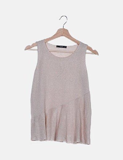Camiseta tirantes punto