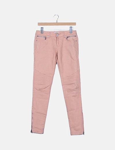 Jeans rosas
