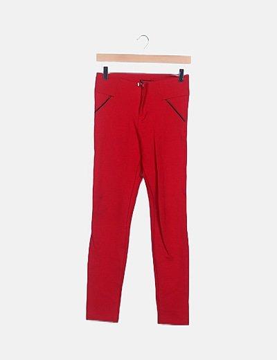 Pantalón sastre rojo