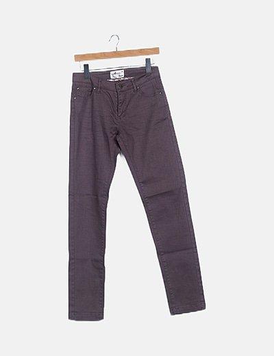 Jeans recto gris