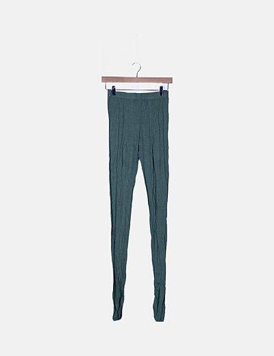 Legging largo verde