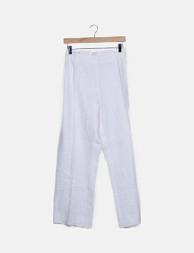 Conjunto blazer y pantalón blancos