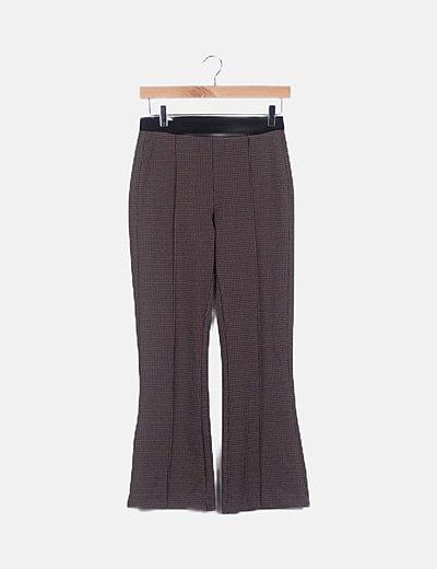 Pantalón chino cuadros