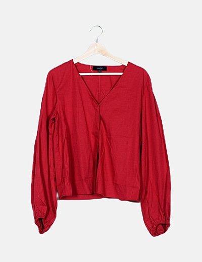 Camisa roja básica