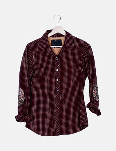 Camisa estampada coderas