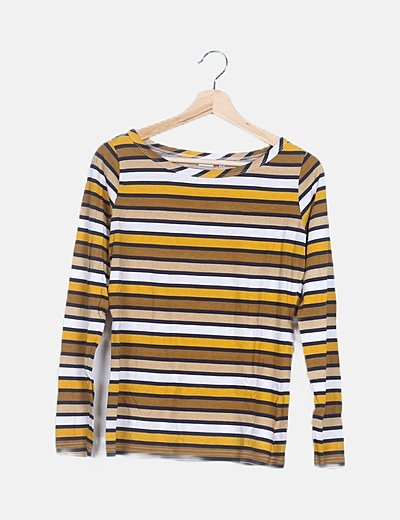 Camiseta rayas multicolor