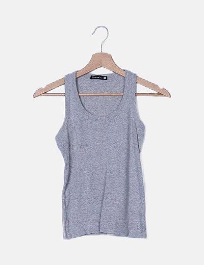 Camisa tirantes gris