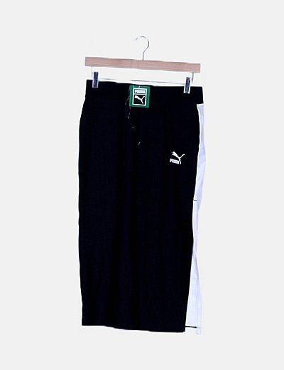 Falda deportiva negra
