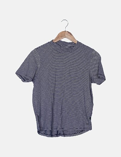 Camiseta rayas azul marina
