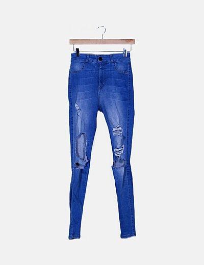 Jeans denim ripped