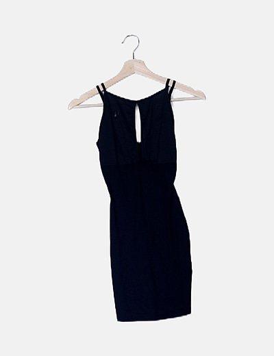 Vestido mini deportiva negro
