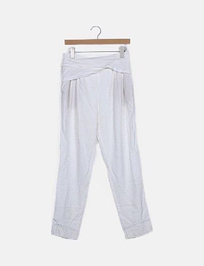 Pantalón blanco tirantes