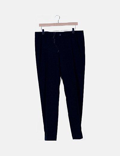 Pantalón negro estilo chino