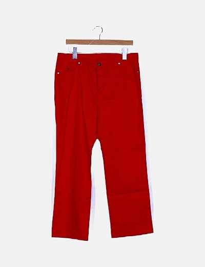 Pantalón rojo pirata