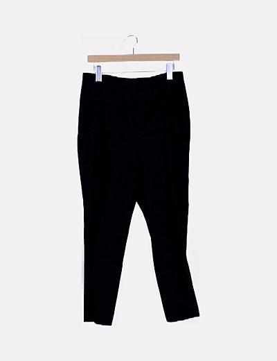Pantalón negro de vestir