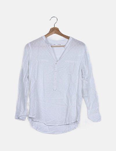 Blusa blanca pumetti