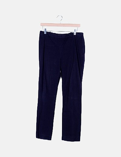 Pantalón chino azul marino