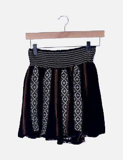 Mini falda paneles