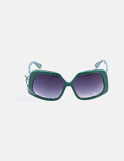 Gafas de sol montura verde