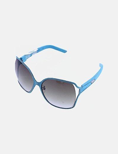 Gafas de sol montura serraje azul