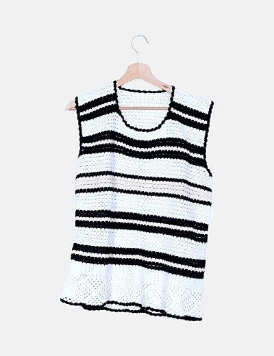 Camiseta punto tricot