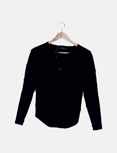 Jersey negro moteado