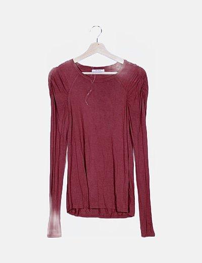 Camiseta básica rose wood