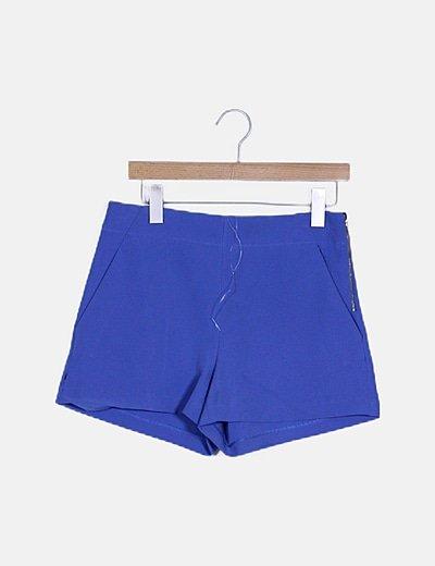 Short fluido azul
