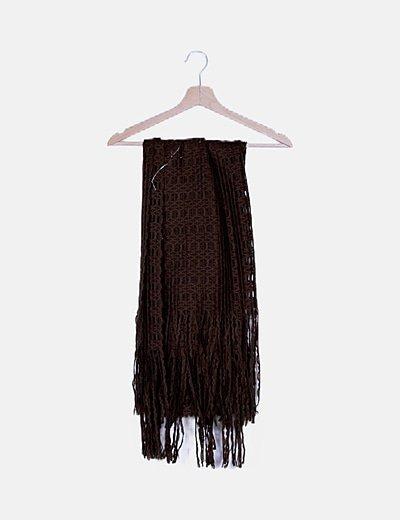 Bufanda marrón