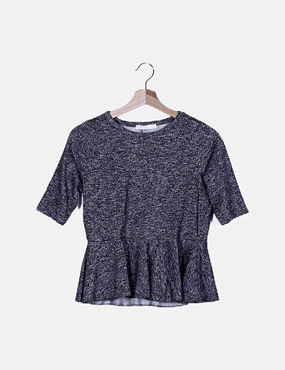 Conjunto blusa y pantalón glitter