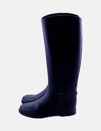 Botas de agua negra