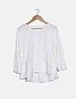 Camiseta beige combinada NoName