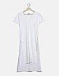 Vestido blanco aberturas Caramelo