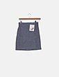 Falda gris texturizada PAN