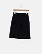 Falda negra midi PAN