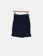 Falda azul marino PAN