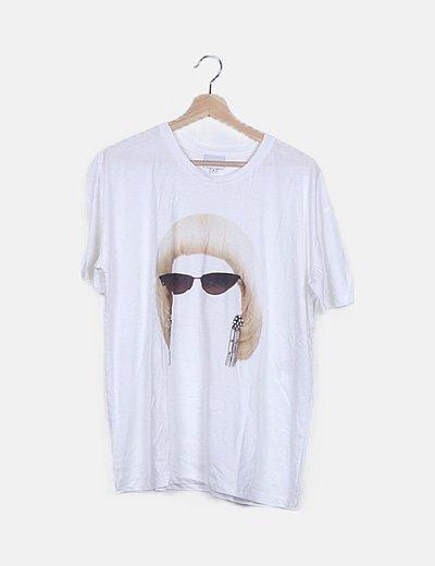 Camiseta over size print